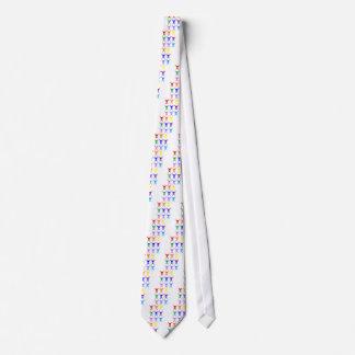 Pirate shears rainbow transparent 2009 tie