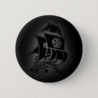 Pirate Ship 1 6 Cm Round Badge