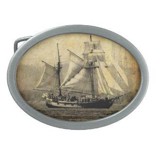 Pirate ship Belt Buckle