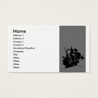 Pirate Ship Business Card