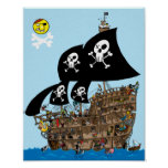 Pirate Ship Escape Print