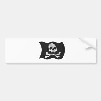 Pirate Ship Flag Bumper Stickers