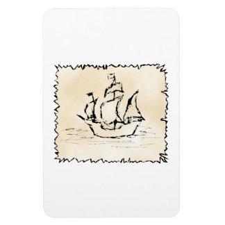 Pirate Ship. Vinyl Magnet