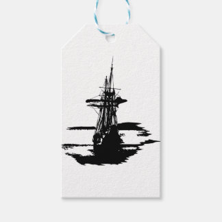 pirate ship gift tags