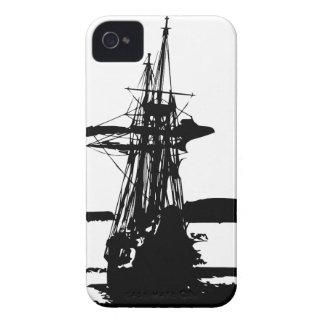 pirate ship iPhone 4 case