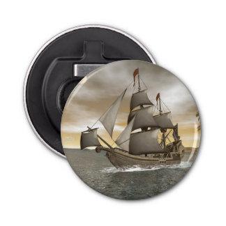 Pirate ship leaving - 3D render Bottle Opener
