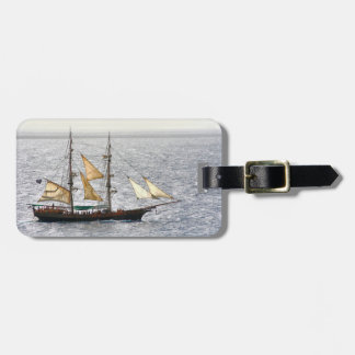Pirate Ship Luggage Tag