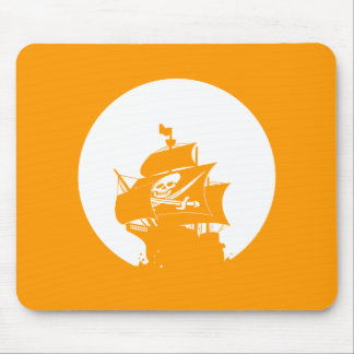 Pirate Ship Mouse Pads