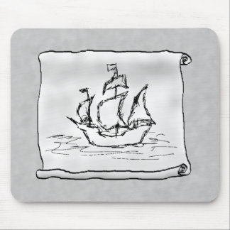 Pirate Ship. Mouse Pad