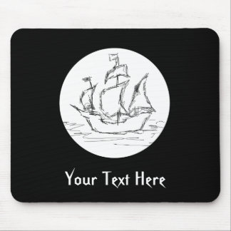 Pirate Ship. Mouse Pads