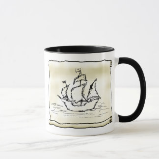 Pirate Ship. Mug