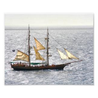 Pirate Ship Photo Art
