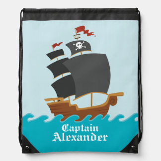 Pirate Ship Backpack