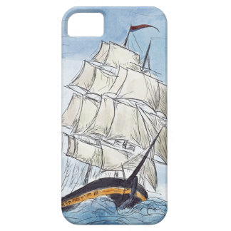 Pirate Ship Portrait Gift iPhone 5 Cases