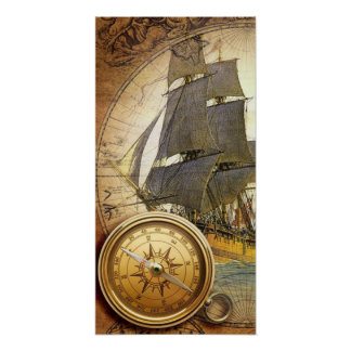 Pirate Ship Posters