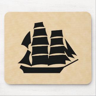 Pirate Ship. Sailing Ship. Mouse Pad