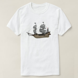 Pirate Ship T shirt
