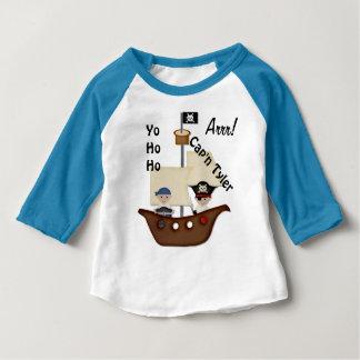 Pirate Ship Treasure Baby Baby T-Shirt