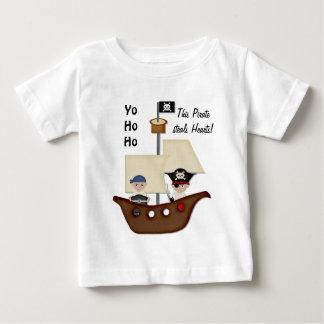 Pirate Ship Treasure Baby Tees