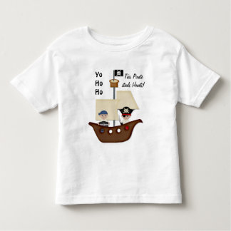 Pirate Ship Treasure Kids Toddler T-Shirt