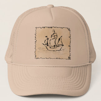 Pirate Ship. Trucker Hat