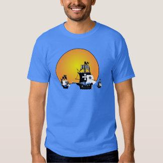 Pirate ships shirt