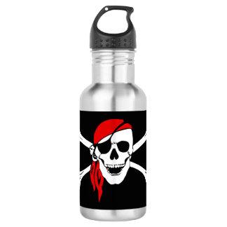 Pirate Skull and cross bones 532 Ml Water Bottle