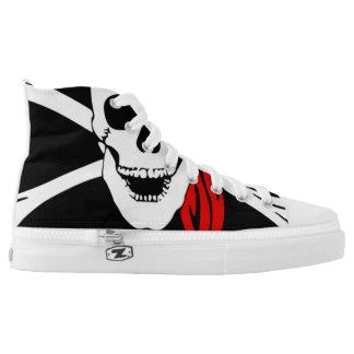 Pirate Skull and cross bones High Tops