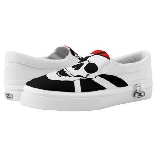 Pirate Skull and cross bones Slip On Shoes