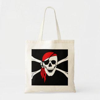 Pirate Skull and cross bones Tote Bag