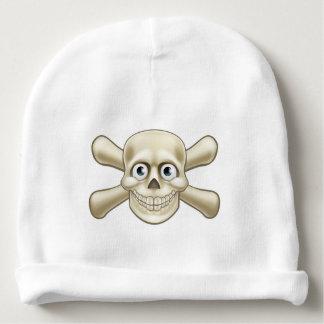 Pirate Skull and Crossbones Cartoon Baby Beanie