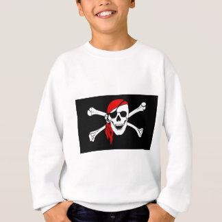 Pirate Skull and crossbones Flag Sweatshirt