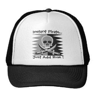 Pirate Skull and Crossbones - Just Add Rum Hat