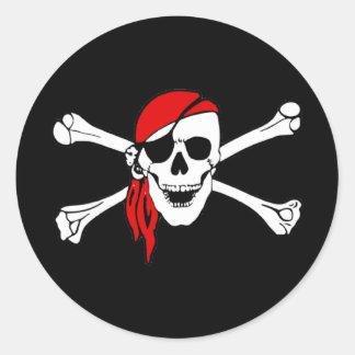 Pirate Skull and Crossbones Sticker