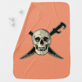 Pirate (Skull) - Baby Blanket