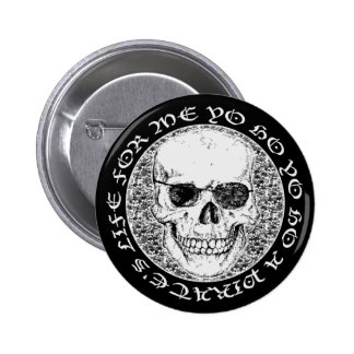 pirate skull pinback buttons