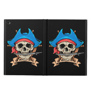 Pirate Skull Biting Knife Powis iPad Air 2 Case
