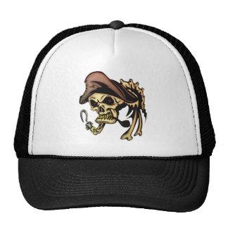 Pirate Skull Bones Cap