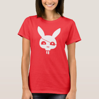 Pirate Skull Bunny With EyePatch T-Shirt