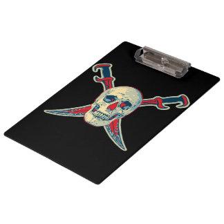 Pirate (Skull) - Clipboard