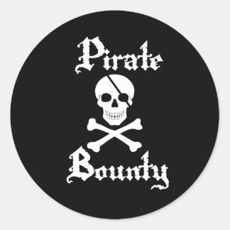 Pirate Skull & Crossbone Sticker