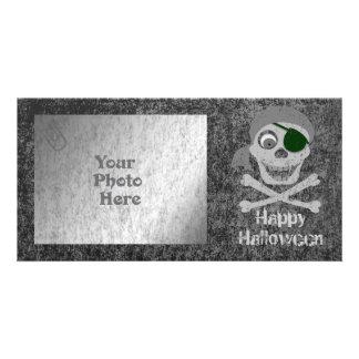 Pirate Skull & Crossbones Photo Card