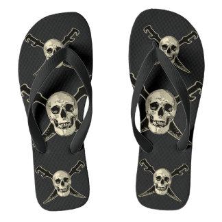 Pirate (Skull) - Custom Adult, Wide Straps Thongs