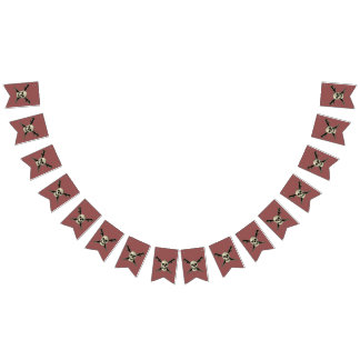 Pirate (Skull) - Custom Swallowtail Party Bunting Bunting