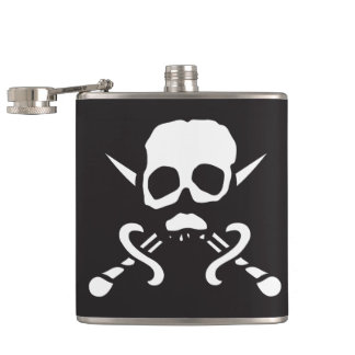 Pirate Skull Flask