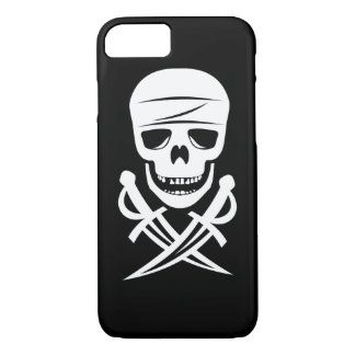 Pirate Skull Jolly Roger iPhone 7 Case