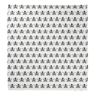 Pirate skull pattern bandanna