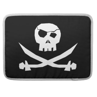 Pirate Skull Sleeve For MacBooks