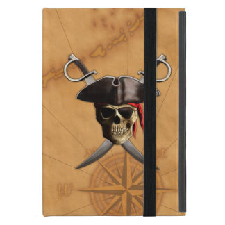 Pirate Skull Swords And Map iPad Mini Case
