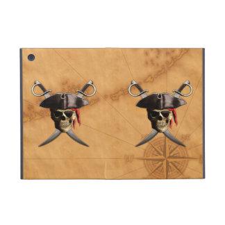 Pirate Skull Swords And Map iPad Mini Case